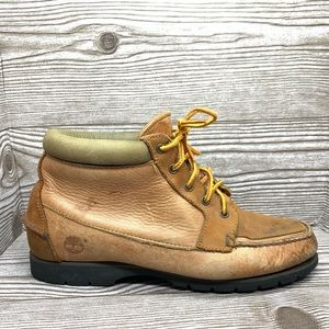 Timberland leather waterproof gore tex short boots